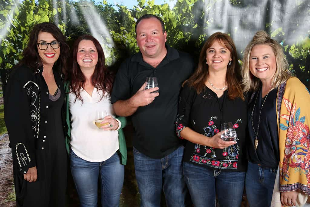 Farmhouse Vineyards and Texas Hill Country Wineries founding member Becker Vineyards at Texas Hill Country Wineries 20th Anniversary celebration